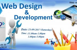 Free Seminar on Website Design and Development (23.09.2017)